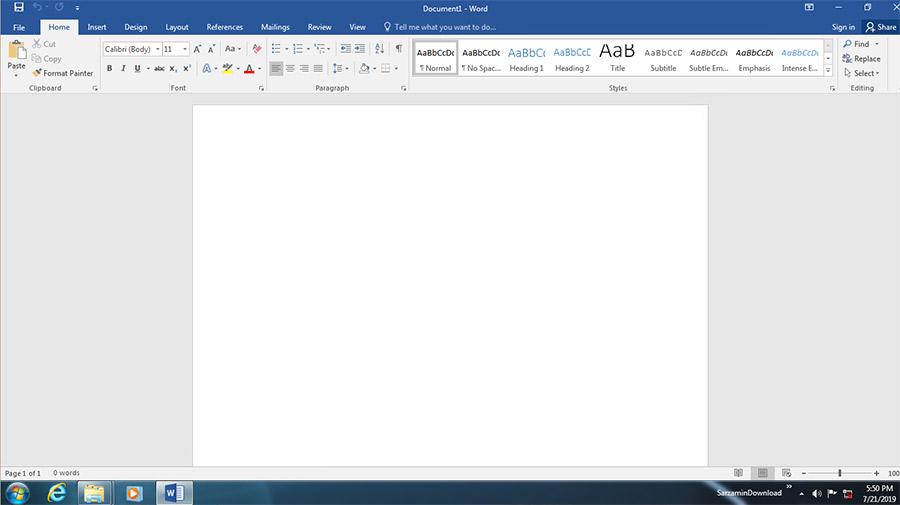 نرم افزار آفیس 2016 همراه با آپدیت های جدید (برای ویندوز) - Microsoft Office 2016 Pro Plus VL August 2020 Windows