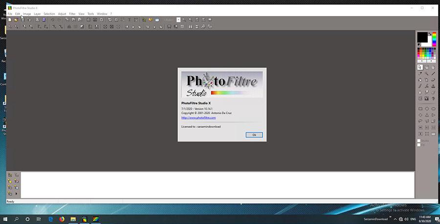 نرم افزار حرفه ای افکت گذاری تصاویر (برای ویندوز) - PhotoFiltre Studio 11.2 Windows
