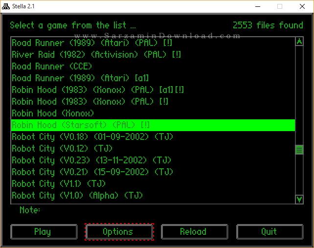 مجموعه بازی آتاری (برای کامپیوتر) - 2500Old Atari Game For PC