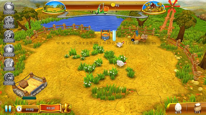 مزرعه بازی بدون اینترنت دانلود جدیدترین نرم افزار و بازی های اندروید - دانلود بازی فانتزی و استراتژیک اندروید Tiny Farm ۱*۰۶*۰۰