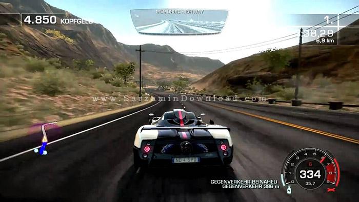 بازی ماشین جنون سرعت (برای کامپیوتر) - Need For Speed Hot Pursuit PC Game