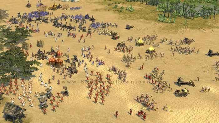 بازی استراتژیک جنگ های صلیبی (برای کامپیوتر) - Stronghold Crusader 2 PC Game