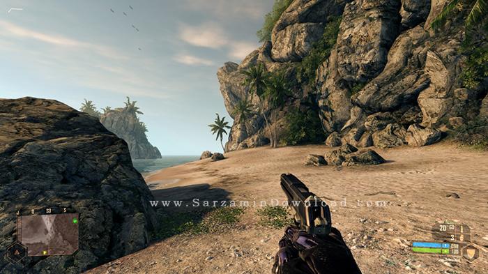بازی کرایسیس 1 (برای کامپیوتر) - Crysis PC Game