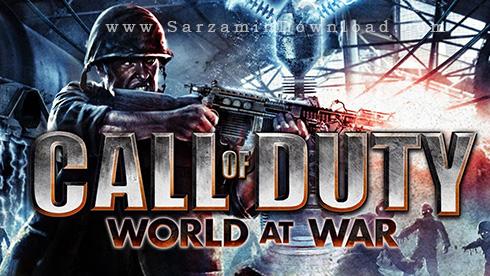 بازی کال آف دیوتی دنیا در جنگ (برای کامپیوتر) - Call Of Duty World At War PC Game