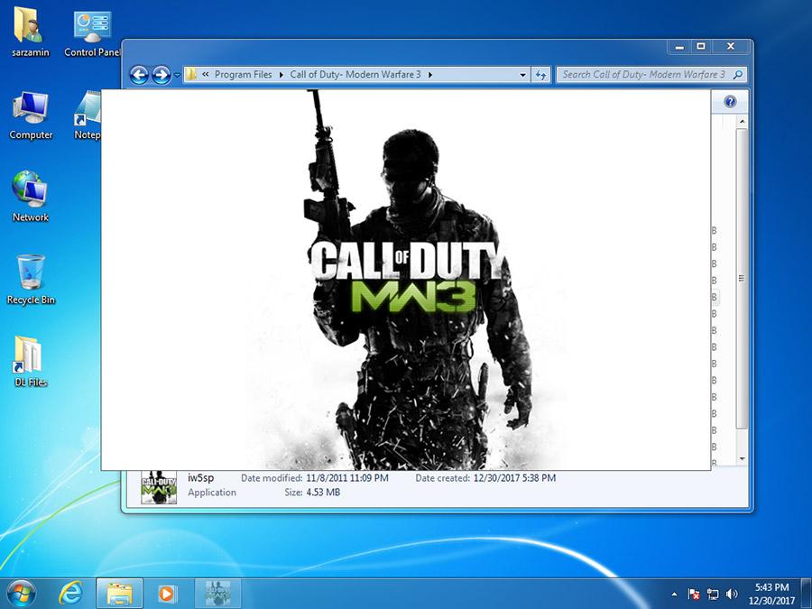 بازی کال آف دیوتی مدرن وارفیر 3 (برای کامپیوتر) - Call of Duty Modern Warfare 3 PC Game