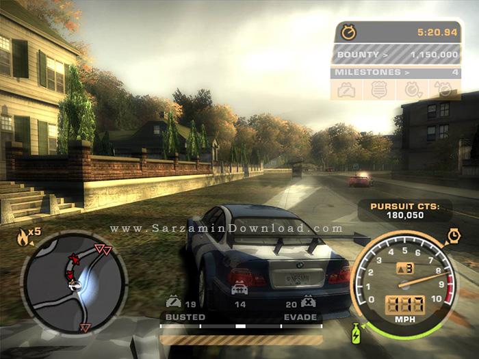 دانلود بازی need for speed most wanted 2012 برای windows