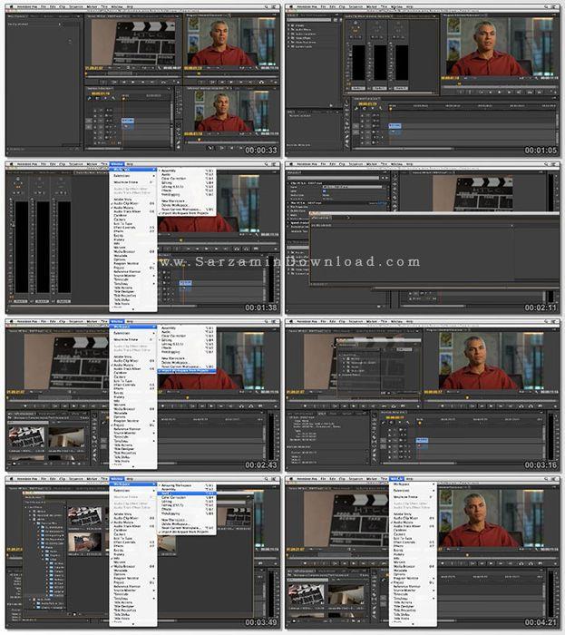 دانلود فیلم تایم لاین دانلود آموزش پریمیر (فیلم آموزشی) - Adobe Premiere Pro CC