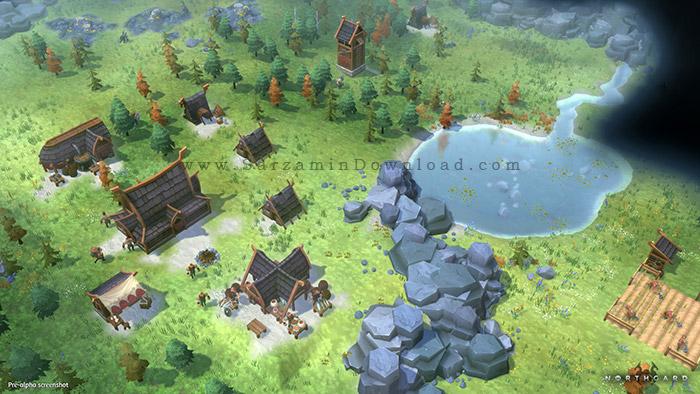 بازی سرزمین نورسگارد (برای کامپیوتر) - Northgard PC Game