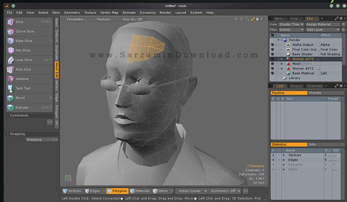 دانلود نرم افزار طراحی سه بعدی