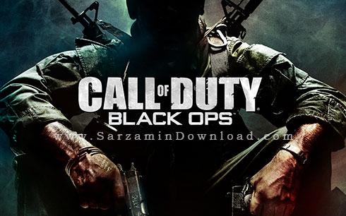 بازی جنگی ندای وظیفه (برای کامپیوتر) - Call of Duty Black Ops PC Game