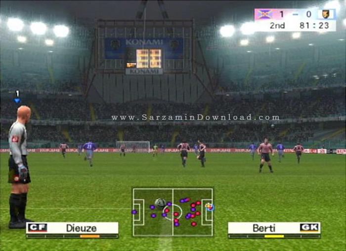 بازی پی ای اس 4 (برای کامپیوتر) - Pro Evolution Soccer 4 PC Game