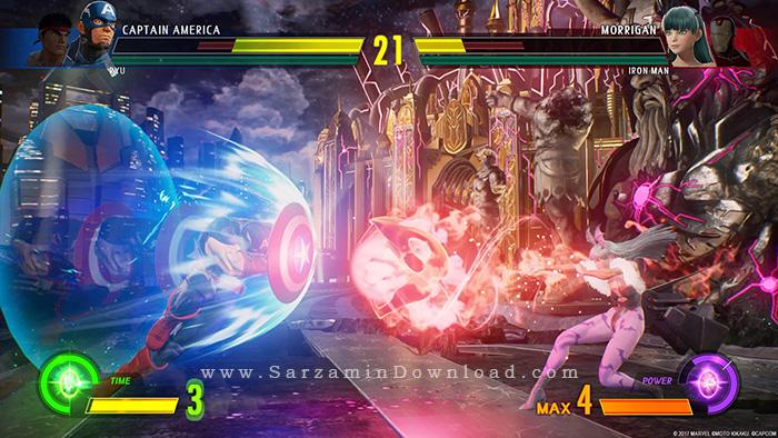 بازی مارول در مقابل کپکام (برای کامپیوتر) - Marvel vs. Capcom Infinite Deluxe Edition PC Game