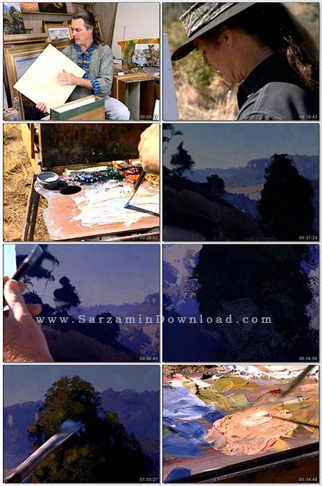 آموزش نقاشی منظره با استفاده از رنگ روغن (فیلم آموزشی) - Oil Painting Warwick Fuller Lessons in the landscape Rip