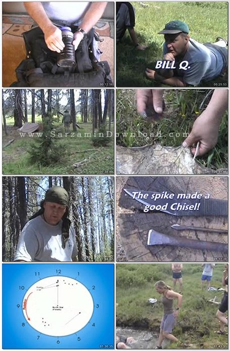 آموزش نجات در طبیعت (فیلم آموزشی) - Woodsmaster Survival Skills