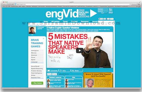 مجموعه آموزش زبان انگلیسی (فیلم آموزشی) - Engvid