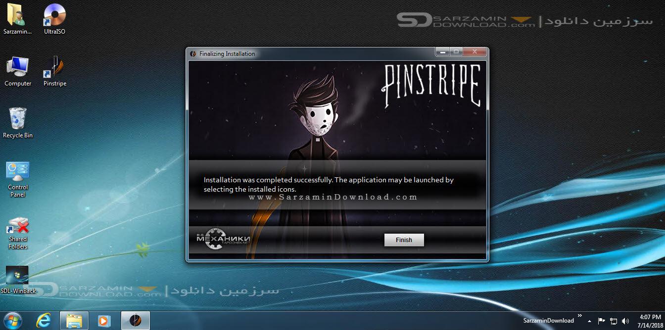 بازی تار و پود (برای کامپیوتر) - Pinstripe PC Game