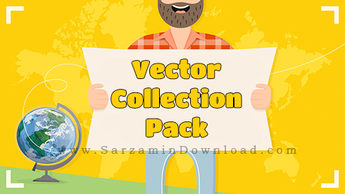 مجموعه وکتور با موضوعات مختلف - Vector Collection Pack