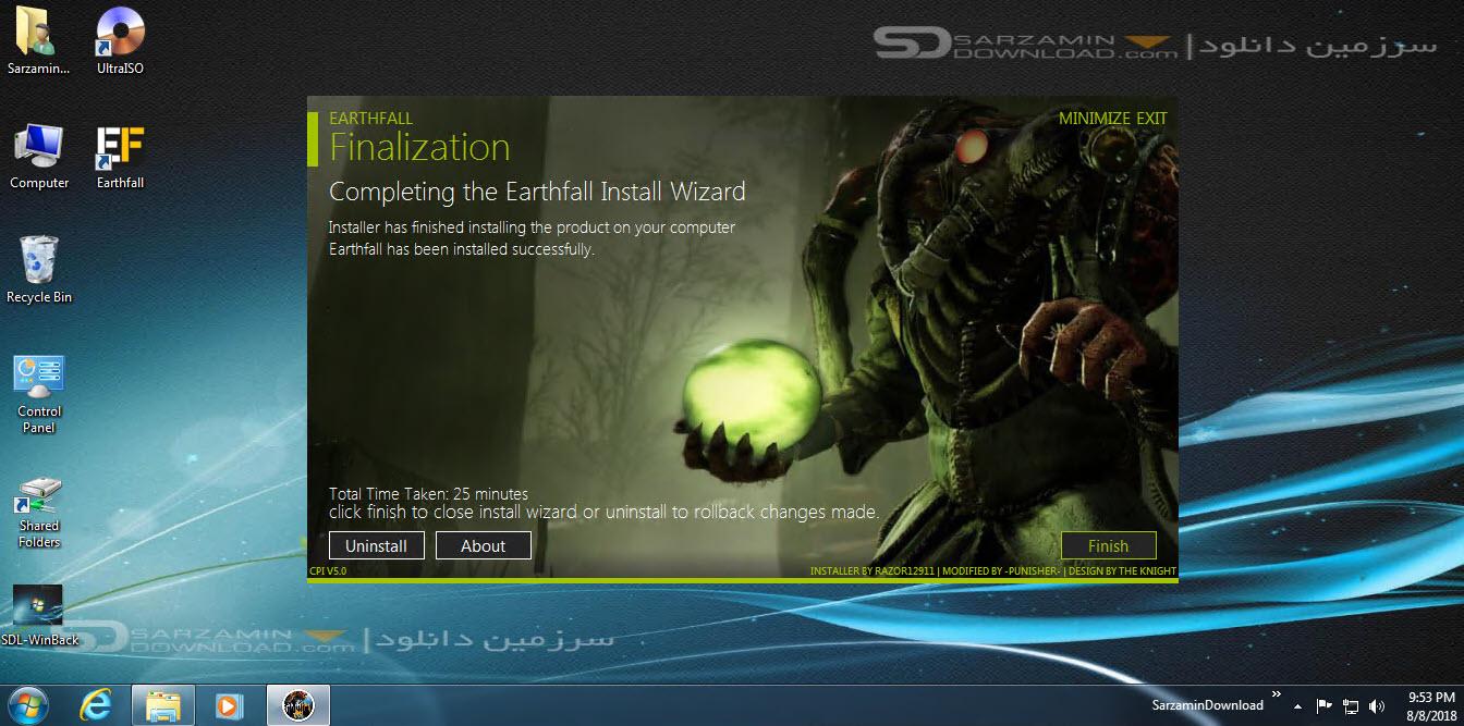بازی سقوط زمین (برای کامپیوتر) - Earthfall PC Game