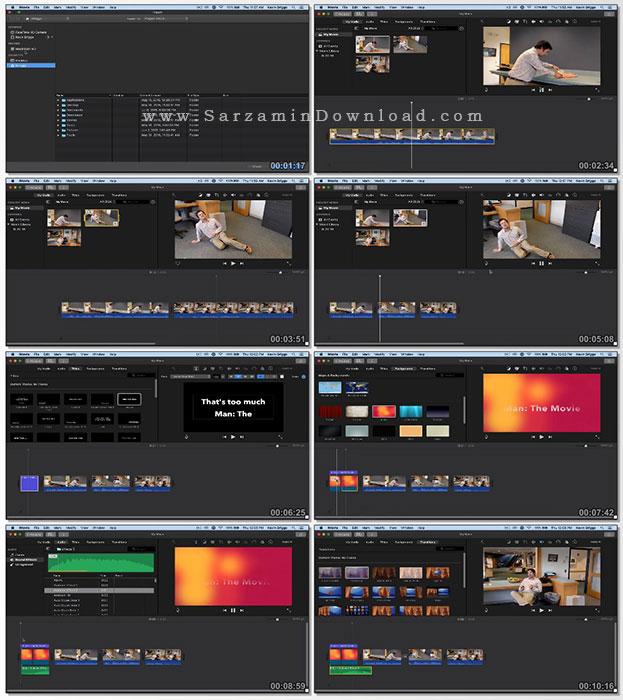 آموزش نرم افزار iMovie برای افراد مبتدی (فیلم آموزشی)