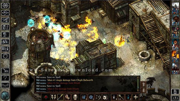 بازی باد یخی (برای کامپیوتر) - Icewind Dale Enhanced Edition PC Game