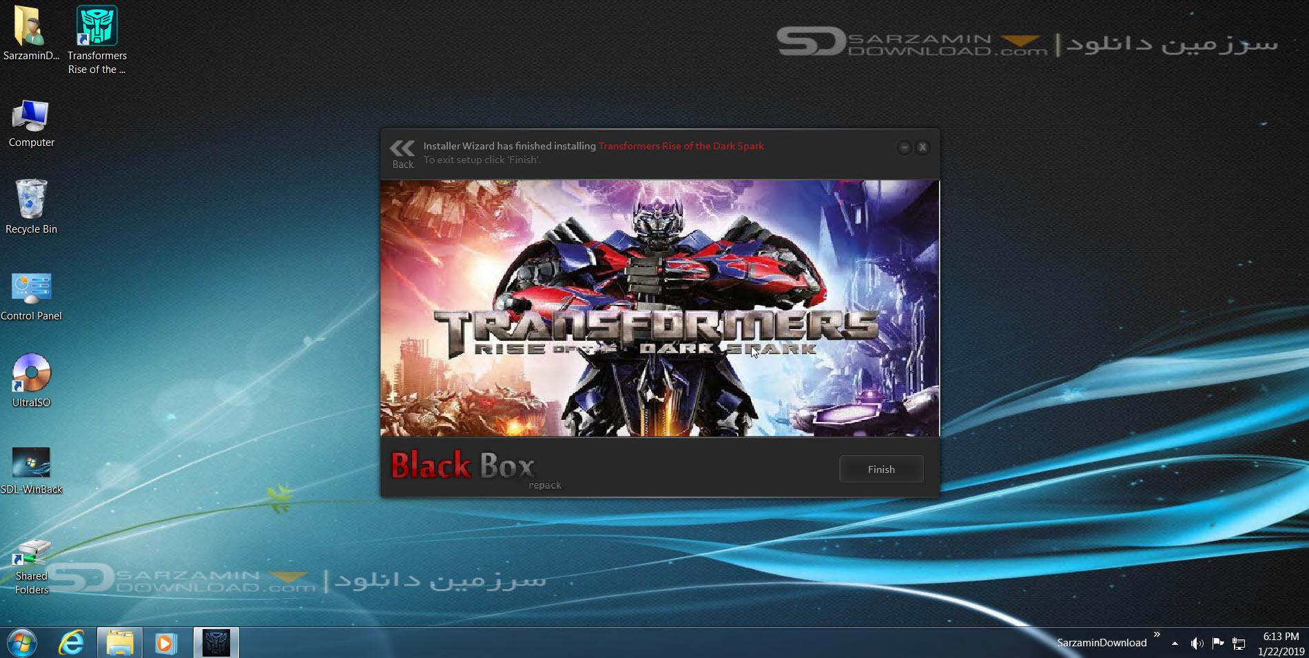 بازی تبدیل شوندگان 4 ، نسخه رستاخیز شعله سیاه (برای کامپیوتر) - Transformers Rise of the Dark Spark PC Game