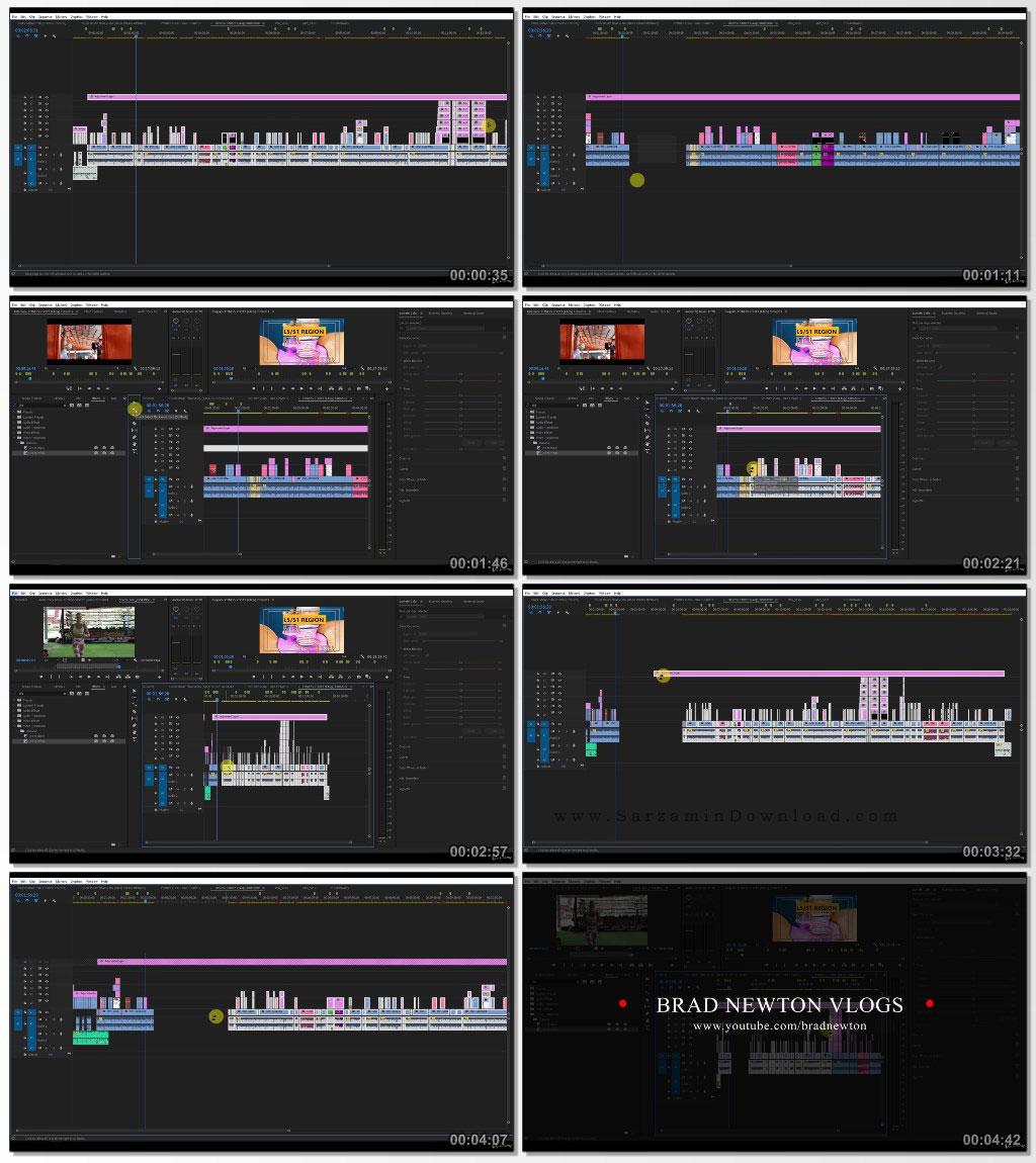 آموزش پريمير به صورت مبتدي (فيلم آموزشي) - Udemy Adobe Premiere Pro Ultimate Beginner Course