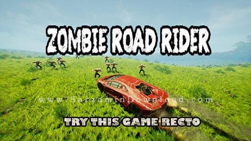 بازی جاده زامبی (برای کامپیوتر) - Zombie Road Rider PC Game