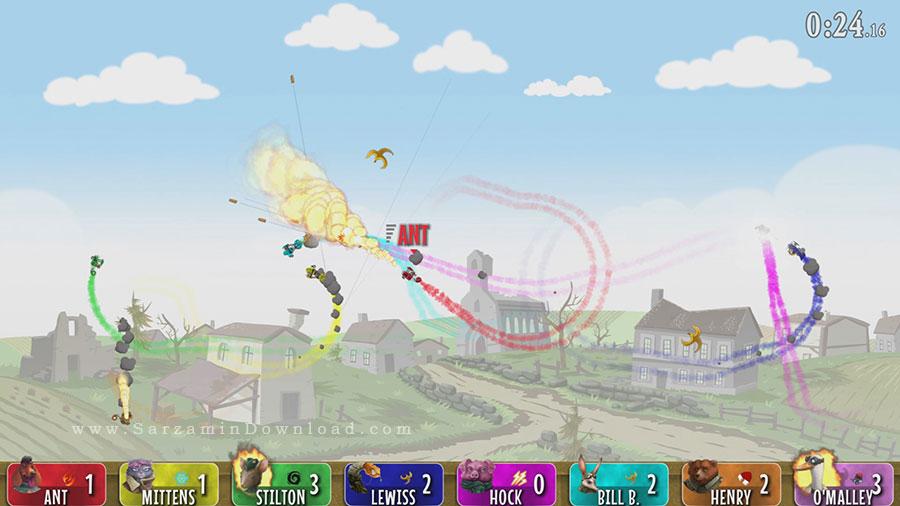 بازی پرواز (برای کامپیوتر) - Baron Fur Is Gonna Fly PC Game
