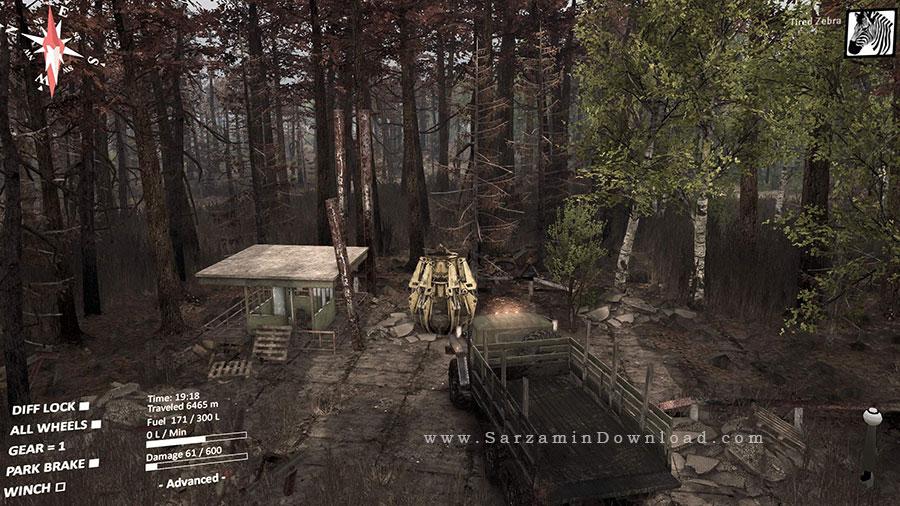 بازی فاجعه چرنوبیل (برای کامپیوتر) - Spintires Chernobyl PC Game