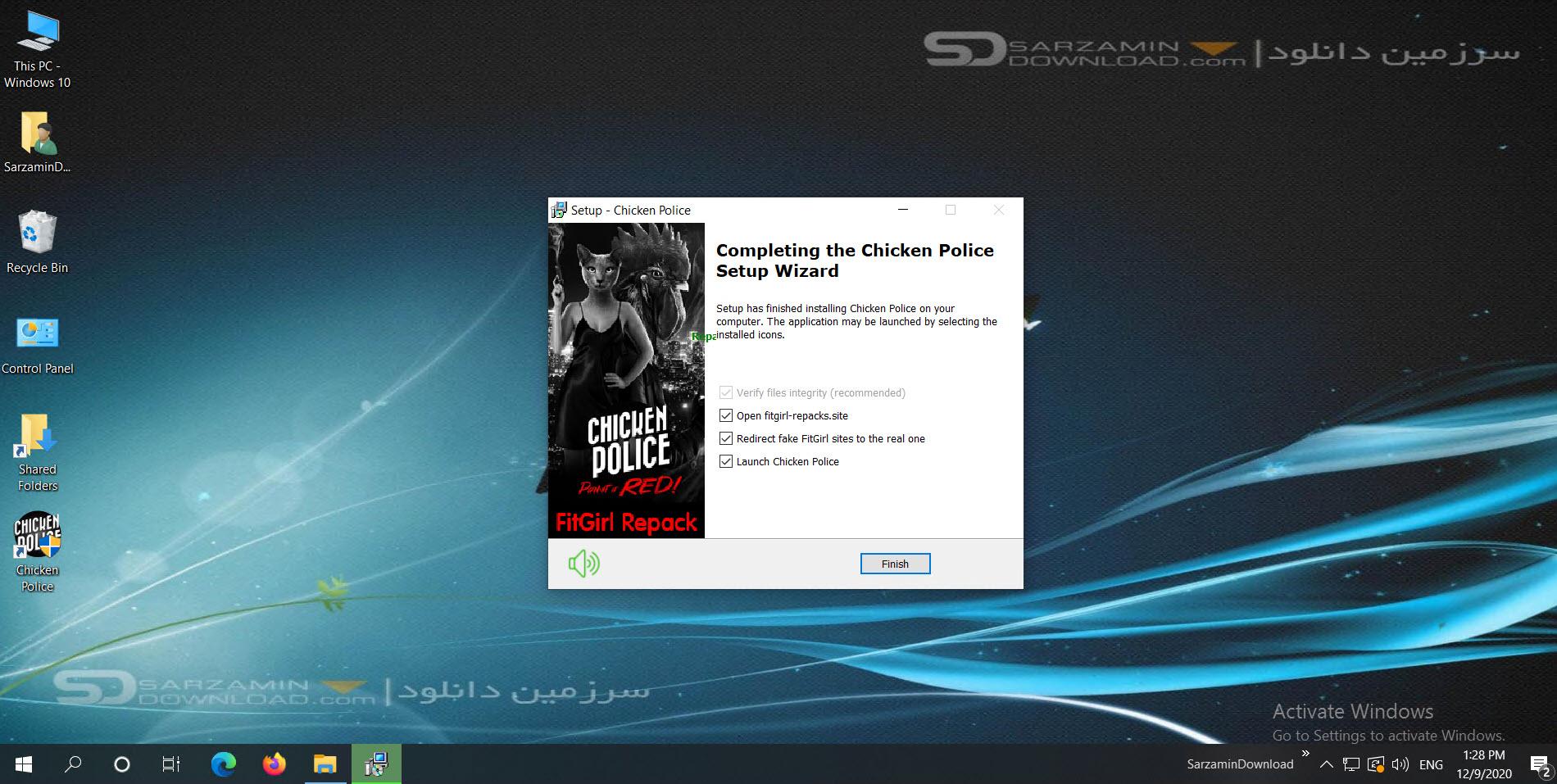 بازی مرغ پلیس (برای کامپیوتر) - CHICKEN POLICE PC Game