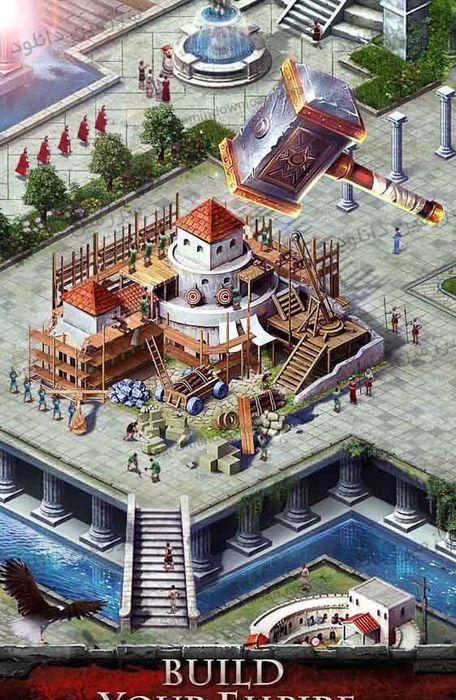 بازی جنگ امپراطوری: عصر قهرمانان (برای اندروید) - Empire War: Age of hero 5.661 Android