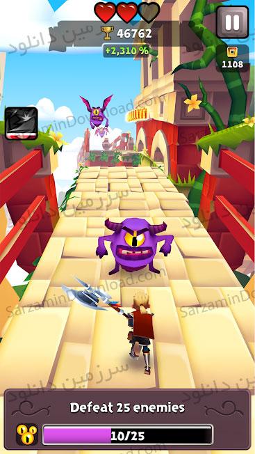 بازی لبه تیغ (برای اندروید) - Blades of Brim 2.7.5 Android