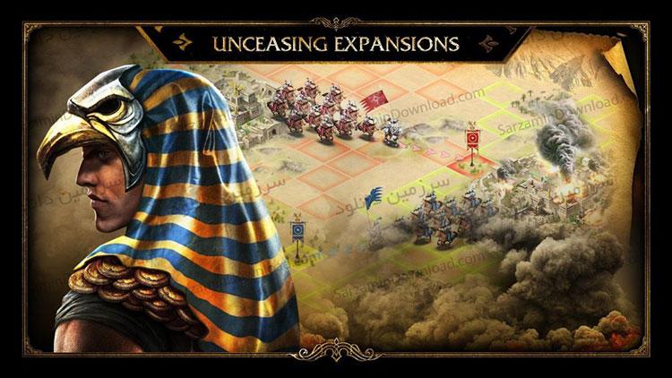 بازی فتح جاودانه (برای اندروید) - Immortal Conquest 1.1.26 Android