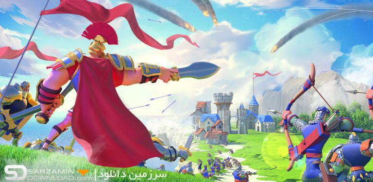 بازی ظهور تمدنها (برای اندروید) - Rise of Civilizations 1.0.3.22 Android