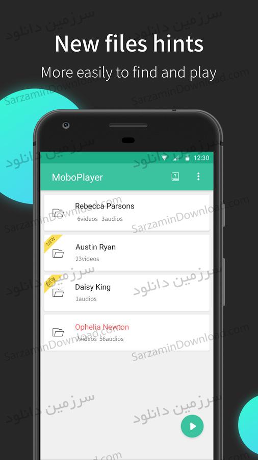 نرم افزار پخش ویدیو (برای اندروید) - MoboPlayer 3.1.142 Android