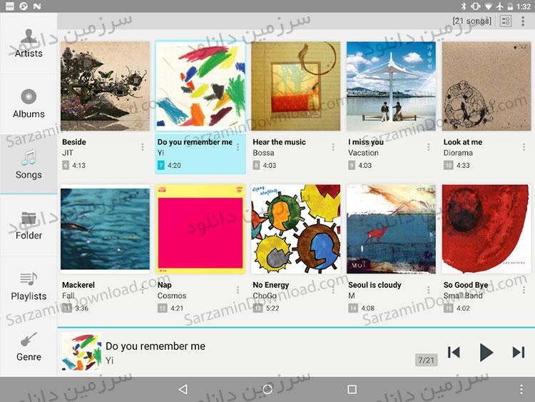 نرم افزار پخش آهنگ جت آدیو (برای اندروید)  - JetAudio HD Music Player 9.4.0 Android