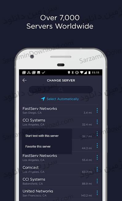 نرم افزار تست سرعت اینترنت (برای اندروید) - Speedtest.net Premium 4.2.3 Android