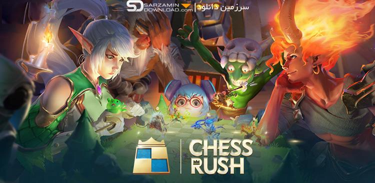بازی حمله شطرنجی (برای اندروید) - Chess Rush 1.6.406 Android