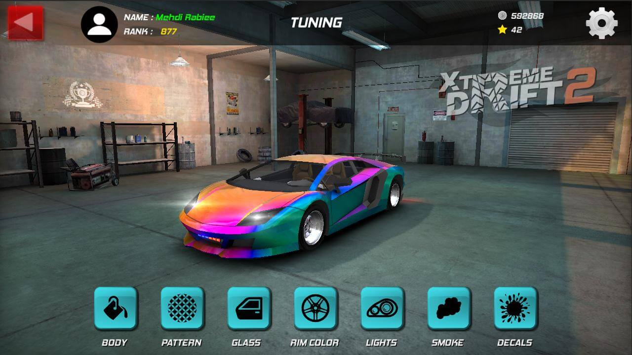 بازی ماشین سواری ایرانی دریفت (برای اندروید) - Xtreme Drift 2 2.2 Android
