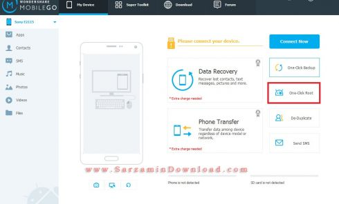 آموزش مدیریت گوشی های اندروید و IOS با نرم افزار Wondershare MobileGo