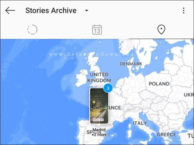 آموزش مشاهده تاریخچه و موقعیت مکانی استوری در اینستاگرام