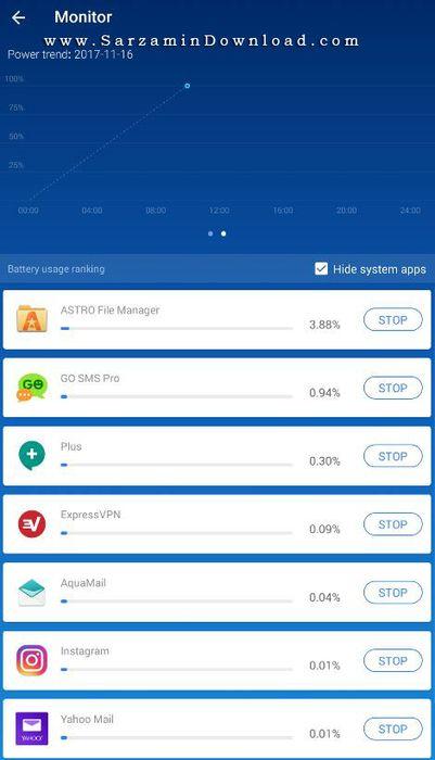 نتیجه تصویری برای نرم افزار کاهش مصرف باتری (برای اندروید) - Greenify 3.9.1 Android