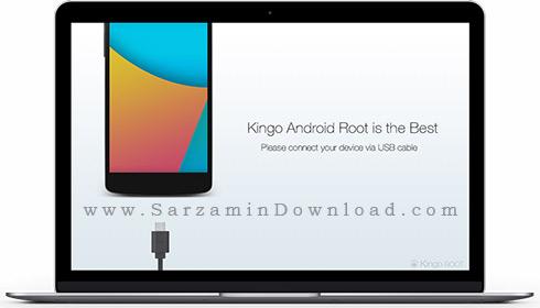 نرم افزار کینگ روت (برای ویندوز) - Kingo Android Root 1.5.8.3353 Windows