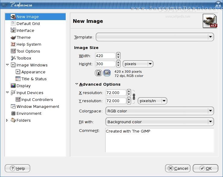نرم افزار حرفه ای ویرایش عکس (برای ویندوز) - GIMP 2.10.4 Windows