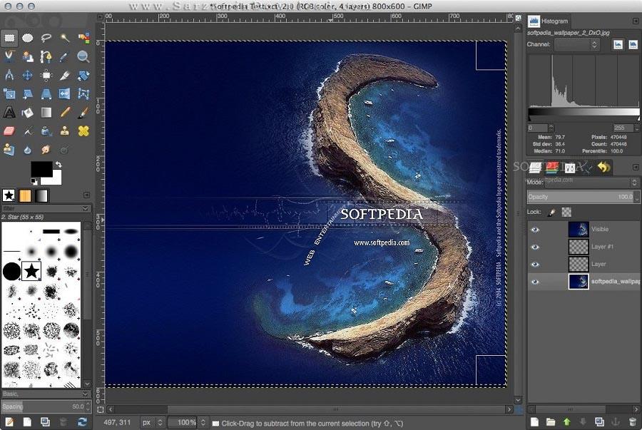 نرم افزار حرفه ای ویرایش عکس (برای مک) - Gimp 2.10.4 Mac