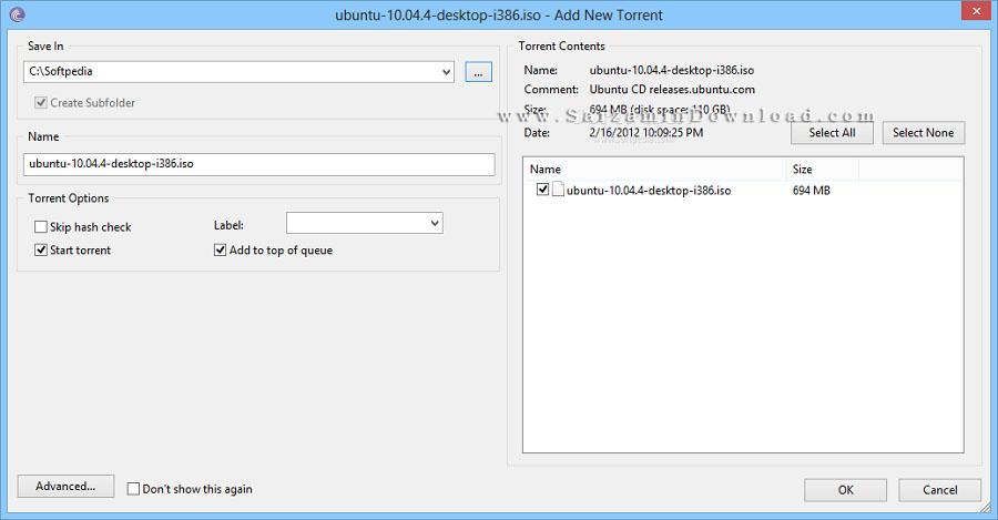 نرم افزار مدیریت دانلود از تورنت (برای ویندوز) - BitTorrent 7.10.4 Build 44633 Windows