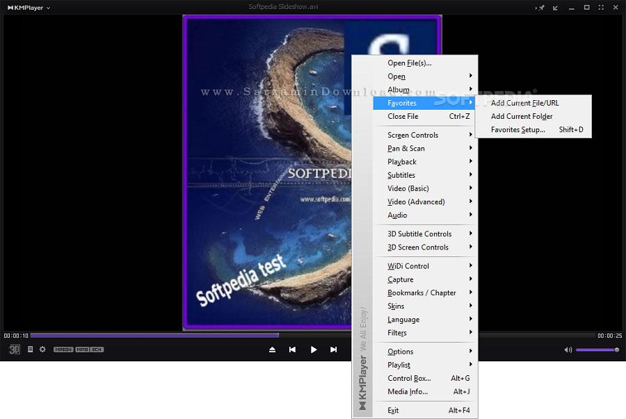 نرم افزار پخش فیلم و موسیقی، کا ام پلیر (برای ویندوز) - KMPlayer 4.2.2.15 Windows