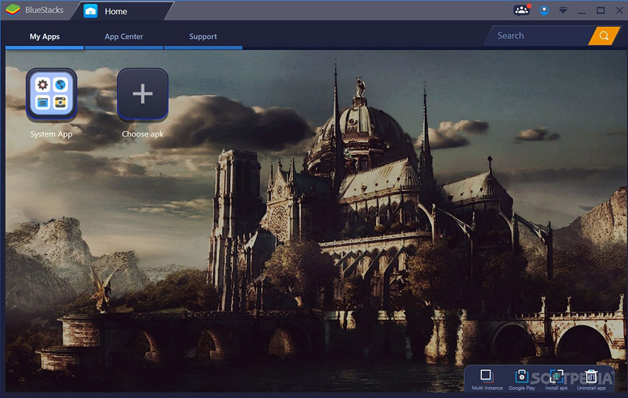 نرم افزار اجرای برنامه های اندروید در کامپیوتر، بلواستکس - BlueStacks App Player 4.240.30.1002 Windows