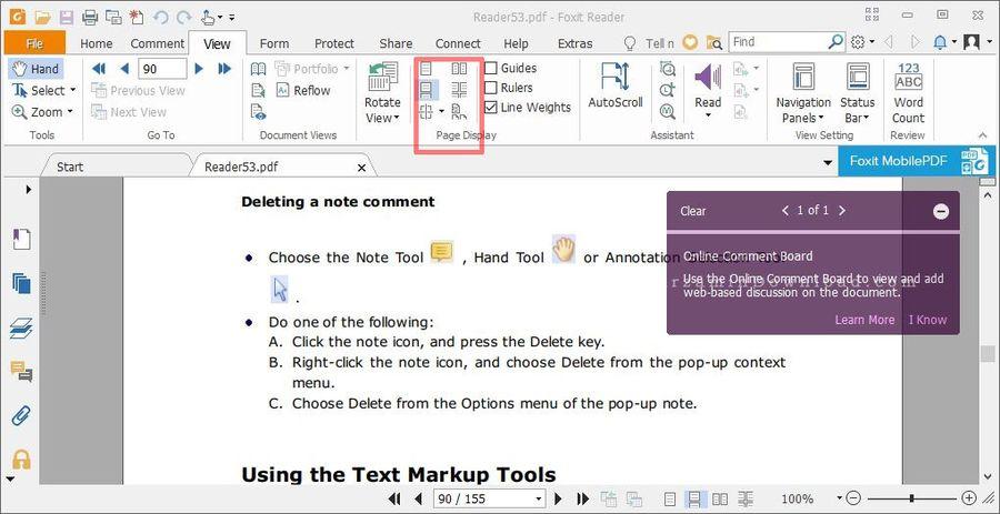 آموزش کار با نرم افزار Foxit Reader