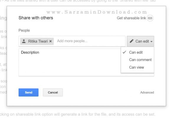 چگونه فایل هایمان را از طریق Google Drive اشتراک گذاری کنیم؟